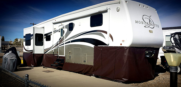 Custom Manufactured Rv Skirting Heavy Duty Protection